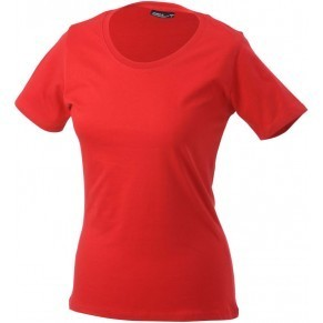 Damen T-Shirt rundhals workwear