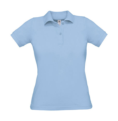 Damen Polo Safran Pure