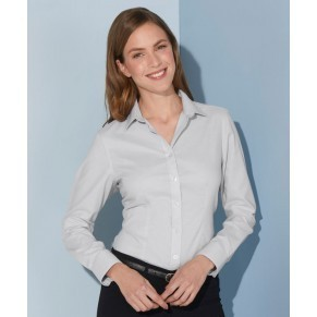 Damen Bluse Oxford easy-care