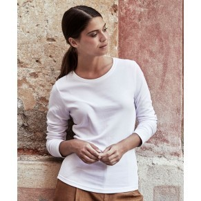 Damen Interlock T-Shirt langarm