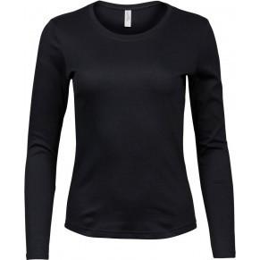 Damen Interlock T-Shirt langarm - www.stick-more.de