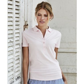 Damen Luxus Stretch Polo